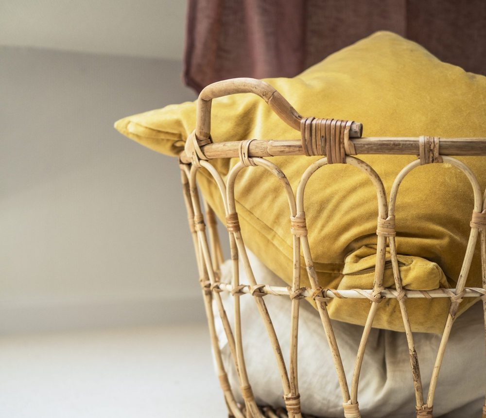 bambus-korb-dekoriert